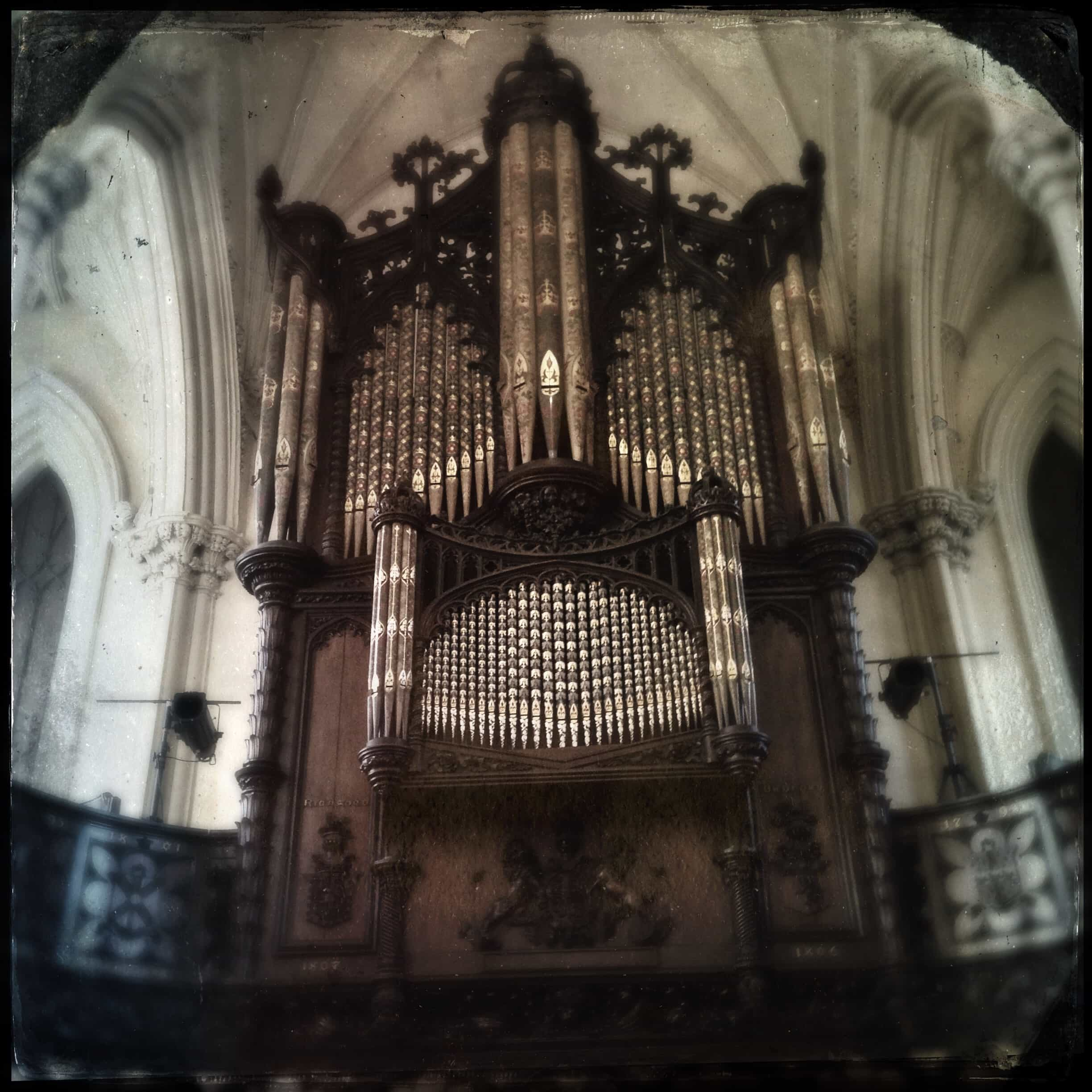The organ in the Chapel Royal in Dublin Castle